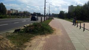Droga dla rowerów przy ul. Światowida