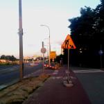 Droga dla rowerów na Tarchominie