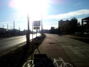 Posprzątana DDR przy ul. Światowida.